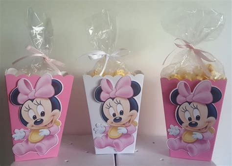 baby minnie mouse snack boxes set of 10
