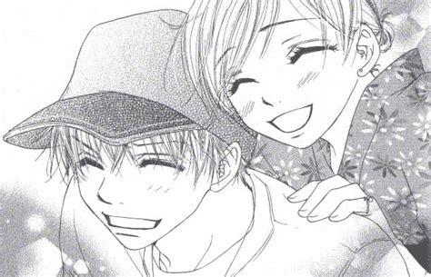 hombre de dibujos animados enamorado katakoi no tsuki akiharu fansub