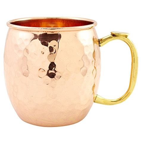 Handmade Copper Mugs - premium moscow mule copper mug by drinkware essentials