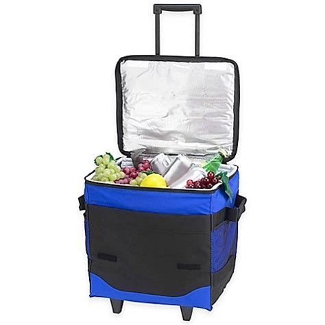 bed bath and beyond cooler picnic at ascot 60 can collapsible rolling cooler bed bath beyond