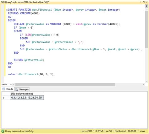 sql recursive query tutorial recursive scalar function in t sql steve stedman