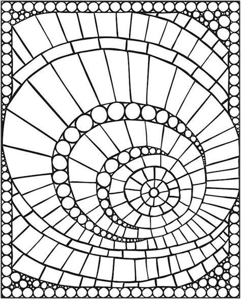 Mosaik Muster Vorlagen Drucken dover spark mosaics coloring page 1 to make