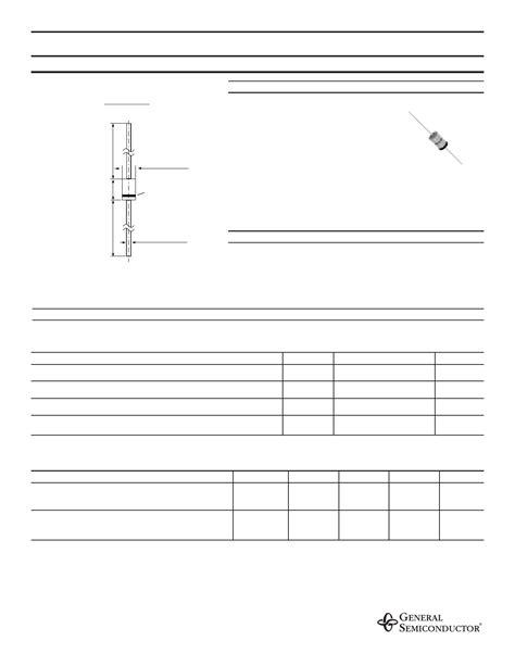 general semiconductor zener diode 1n4737 pdf 데이터시트 zener diodes general semiconductor
