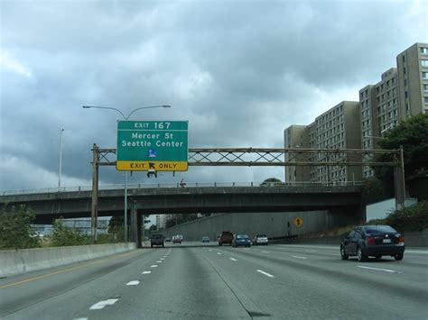 Washington @ AARoads - Interstate 5 North - King County North I 5 Exit 71 In Washington State