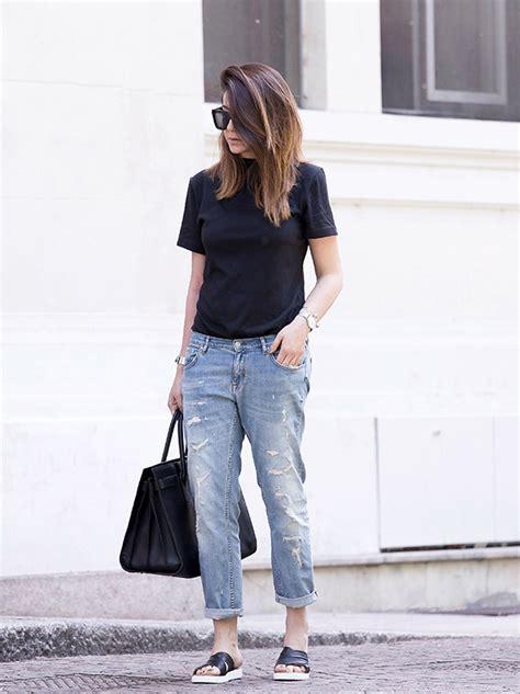 boyfriend jeans outfits  tips    wear