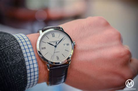 SIHH 2015   Baume & Mercier Classima   Hands On with live photos, specs and price   Monochrome
