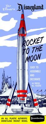disney moon rocketglencoe mars liner