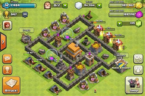 best layout in coc th5 best th5 farming base