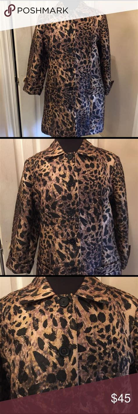Fabulous New Shiny Newsletter by 1000 Ideas About Leopard Print Jacket On