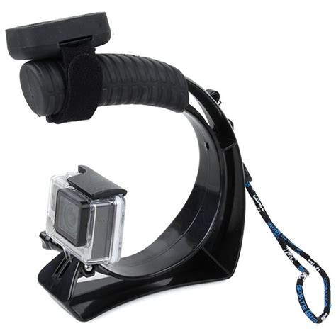 Tmc Curve Stabilizer For Gopro Xiaomi Yi Diskon tmc handheld stabilizer with remote slot for gopro xiaomi yi xiaomi yi 2 4k