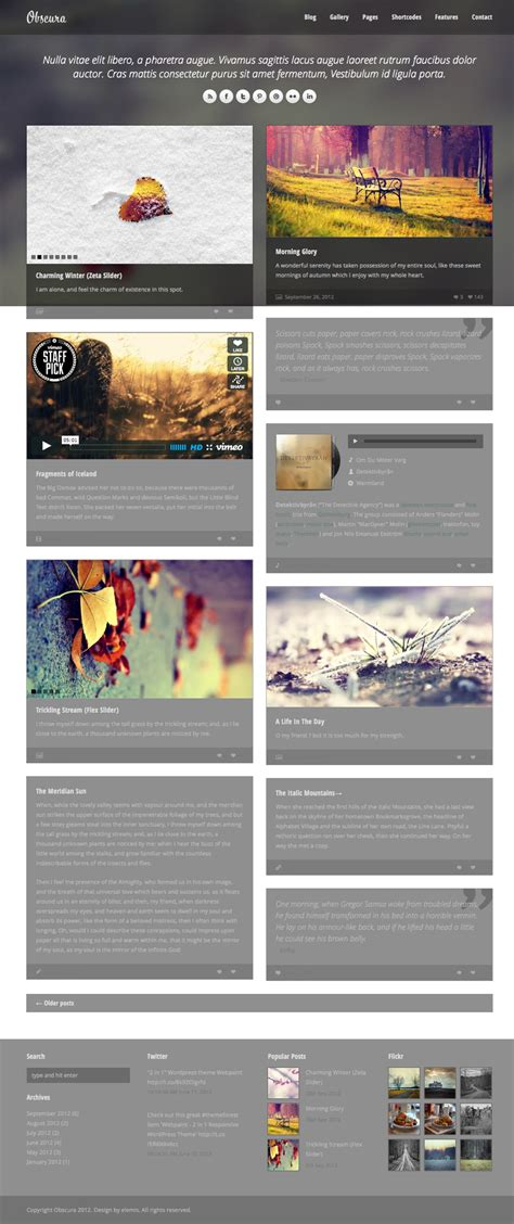 themes on facebook timeline wordpress facebook timeline style themes premium themes
