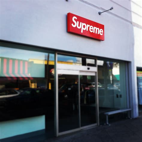 supreme shops the 3rd supreme store i been to in the