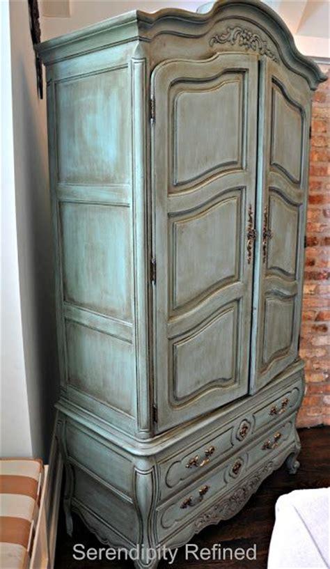 armoire a refined wardrobe best 25 chalk paint cabinets ideas on pinterest chalk