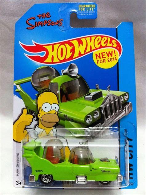 Wheels The Simpsons The Homer 2014 wheels hw city 89 the homer green the simpsons nip hilarious stuff
