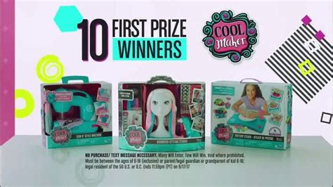 Disney Prizes Sweepstakes - disney channel create it cool sweepstakes tv commercial prize pack ispot tv
