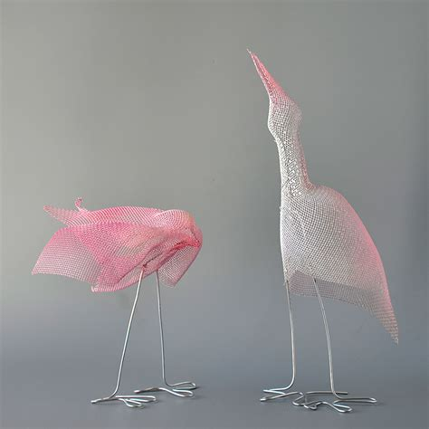 decorative sculptures for the home animal sculptures nuntchi wire mesh sculptures