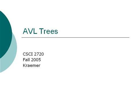 Binary Search Tree Worst Scenario Avl Tree Authorstream