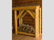 How To Build a Custom Firewood Holder   how-tos   DIY Firewood Storage