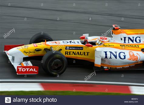 renault f1 alonso ing renault f1 team driver fernando alonso of spain steers