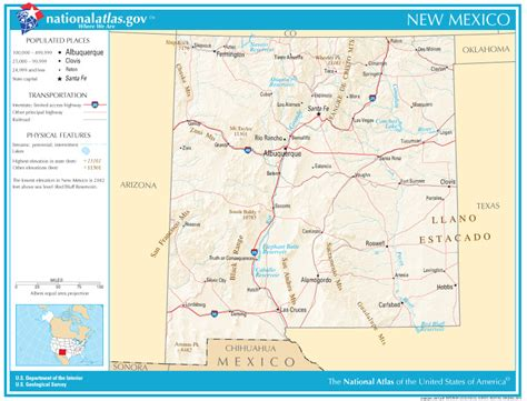 road map of nm new mexico state maps interactive new mexico state road