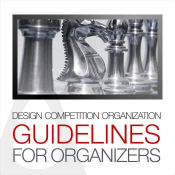 design competition guidance a design award and competition guidelines for