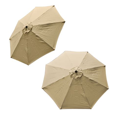 Patio Umbrella Replacement Covers Patio Market Outdoor 9 Ft 8 Ribs Umbrella Cover Canopy Replacement Top