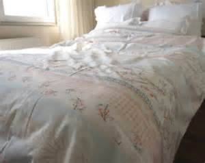 pastel pale blue pale pink mint green floral damask print cotton duvet cover cal king queen