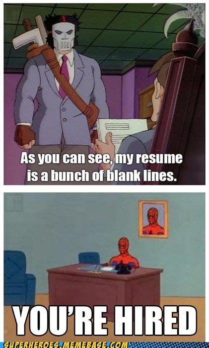 Make Spiderman Meme - casey jones would make a great attorney spiderman an