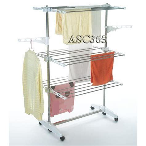 Indoor Laundry Drying Rack by Indoor 3 Tier Folding Clothes Drying Rack Laundry Dryer