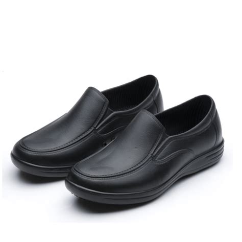 shoes for kitchen workers 2017 chef shoes 9023 shoes cook black flats