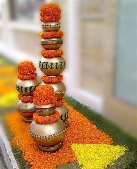 Genda Flower Decoration by Marigold Flower Decoration Ideas