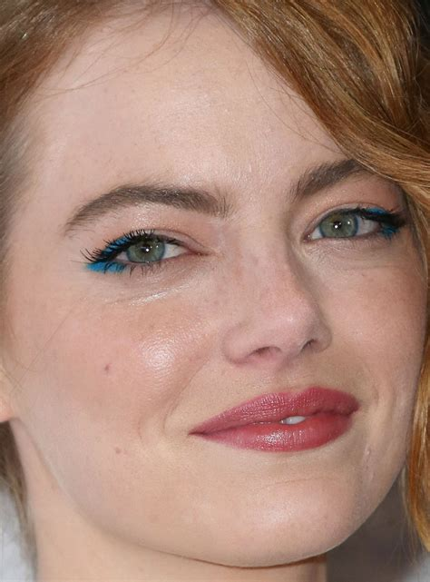 emma stone close up from karlie to lupita 25 of the most creative beauty