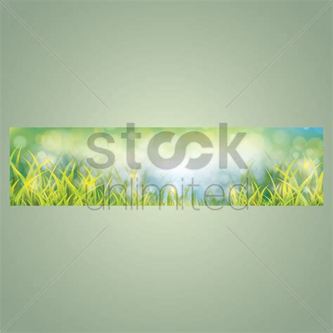 banner design for nature nature banner design vector image 1612320 stockunlimited