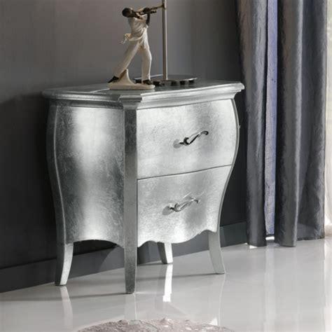 comodini foglia argento comodino con foglia argento