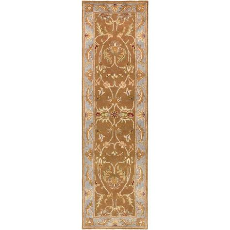 rug runners 2 x 14 artistic weavers oxford isabelle chocolate 2 ft 3 in x 14 ft indoor rug runner awde2005 2314