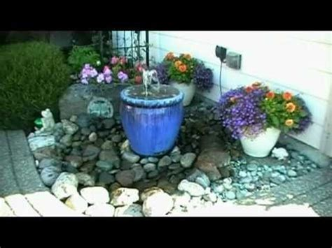 How To Build A Small Backyard Waterfall Learn How To Make A Pondless Water Feature Youtube