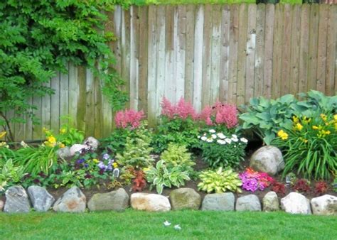 Backyard Flower Bed Ideas Back Yard Flower Bed Garden Ideas