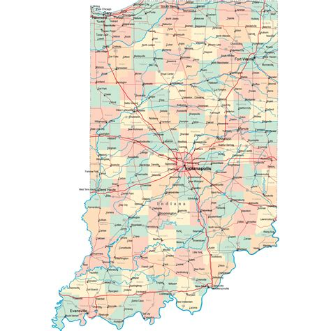 iu map map of indiana outravelling maps guide
