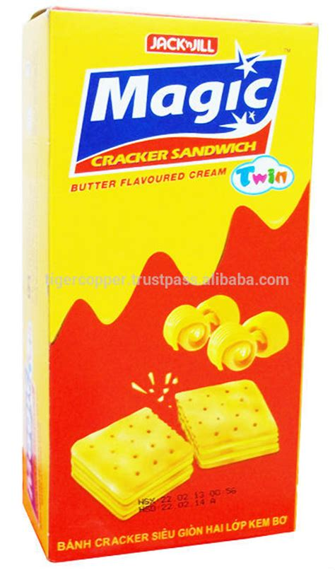Biscuit Magic Cracker Sandwich magic cracker sandwich butter flavoured box