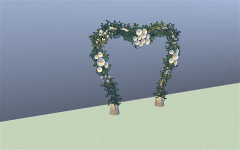 Wedding Arch In Sims 3 by Mod The Sims All Sims 3 Wedding Arches Set