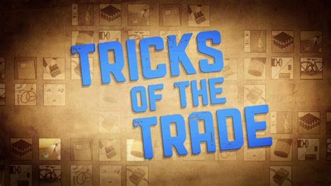 Trick Of The Trade by Tricks Of The Trade Episode 1 On Vimeo