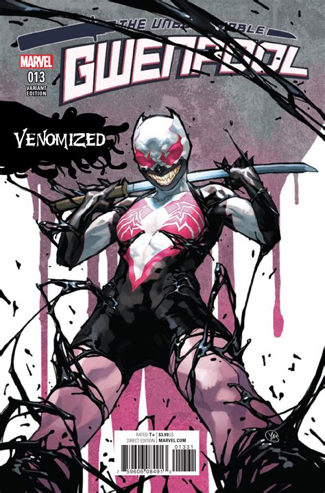 the call of the the graphic novel cfire graphic novels jan171036 gwenpool 13 putri venomized var previews world