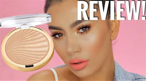 Product Review Dons Maidenform Lite by New Milani Strobelight Instant Glow Powder Highlighter