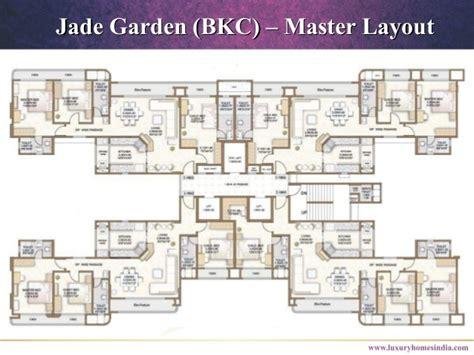 jade garden layout plan jade garden bkc bandra east ppt call 91 8879387111