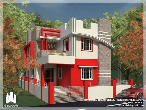 Modern Plantation Homes by 4 Story House Plans With Modern Contemporary Home Design