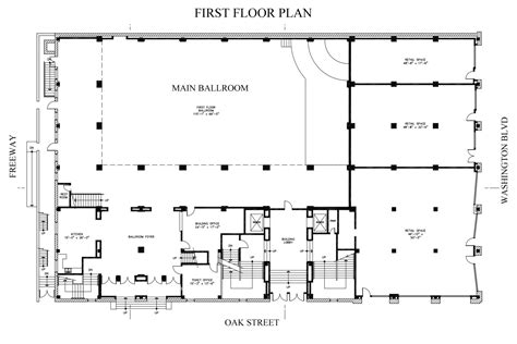 wedding floor plan first floor downtown la event venue for wedding filming