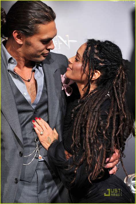 Lisa Bonet And Husband Jason Momoa At Premiere Of | jason momoa conan the barbarian premiere with lisa