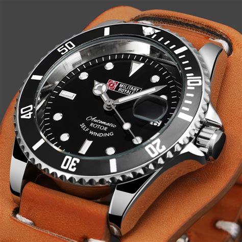 Jam Tangan Pria Swiss Army Black 3 Pilihan Warna royale jam tangan automatic self winding pria