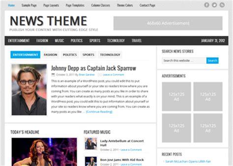 wordpress themes old newspaper theme update to genesis news pro avgjoegeek change log