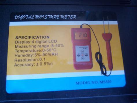 Alat Ukur Kertas jual alat ukur kadar air kertas paper moisture meter